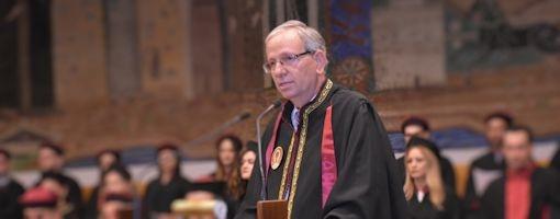 Ο Πρόεδρος του Τμήματος Ιατρικής ΑΠΘ κ. Α. Καραγιάννης