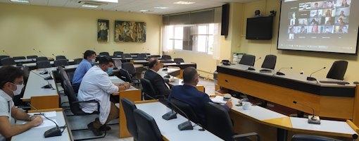 Συνεδρίαση του Διοικητικού Συμβουλίου του Τμήματος Ιατρικής